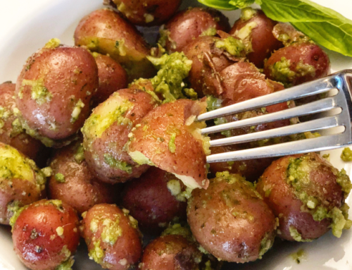 Pesto Redskin Potatoes