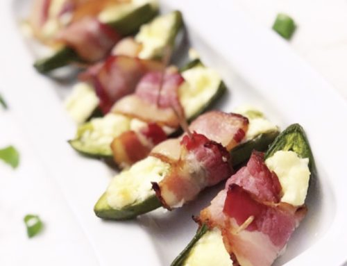 Low-Carb Bacon Wrapped Jalapeño Poppers