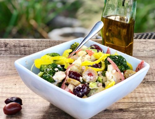 Antipasto Low-carb Broccoli & Cauliflower Salad